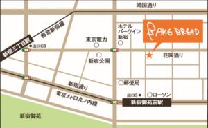 BAKEBREAD地図